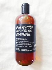 Lush Cosmetics UK Kitchen - B NEVER TOO BUSY TO BE BEAUTIFUL Shower Gel Honey