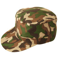 ladies Sexy Army Camouflage camo Soldier hen party Fancy Dress Costume CAP HAT