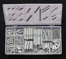 200pc Extension Tension & Compression Coil Helical Spring Assorted Part Kit Set