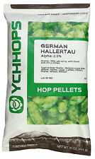 German Hallertau Hop Pellets - 1 lb in Light Resistant Nitrogen Flushed Package