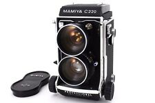 [ Excellent+++++ ] MAMIYA C220 Professional 6x6 TLR w/65mm F3.5 From Japan #301