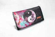 Pu Leather Wallet Purse Tobacco Case Pouch Bag Cigarette Rolling Yin Yang