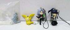 D.Gray-man Mascot Strap Mascot Collection Figure 4 set Capsule Toy Gacha Anime