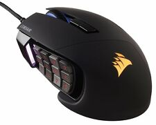 Corsair Gaming SCIMITAR RGB MOBA/MMO Gaming Mouse Mechanical 12000 DPI Black NEW