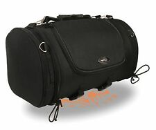 Large Nylon Duffle Style Sissy Bar Bag w/ Carry Strap Fits most All Harley's