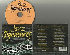 Jazz Signatures by Various Artists CD 1999 RCA Duke Ellington Artie Shaw 13 trax