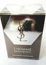 L'Homme Cologne Gingembre  by Yves Saint Laurent for Men 3.4/3.3 oz Spray NIB
