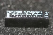 104-2-A-24/2D Pickering Alto Voltaje Sil Reed Relé