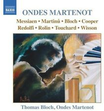 Music For Ondes Martenot (2004, CD NEUF) Messianen/Bloch/Wisson