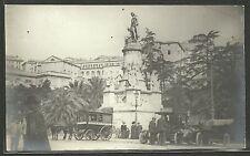 Genova - Piazza Acquaverde e Monumento a Colombo - Animata Auto Carrozze
