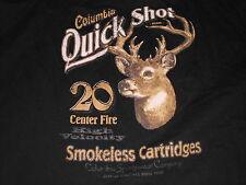 COLUMBIA QUICK SHOT 20 CENTER FIRE SMOKELESS CARTRIDGES L/S ADULT 4X GUNS AMMO