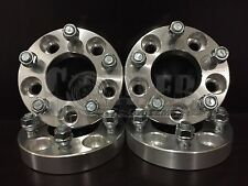 """Wheel Spacers 1.25"""" Aluminum Adapters Set 4 5 Lug Bolt 5x4.5 Fit Ford Edge 07-14"""