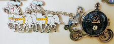 DISNEY CINDERELLA & PRINCE CHARMING IN COACH LE 250 JUMBO Pin NEW CLASSIC SET