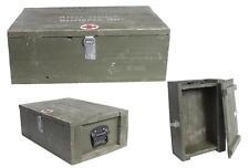 Suédois Caisse en bois 36x54 utilisé Boîte de conservation Coffre de rangement