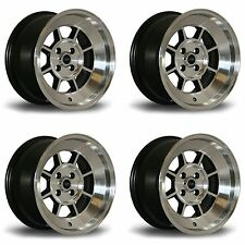 4 x Rota BM8 Polished Silver Alloy Wheels - 15x9"