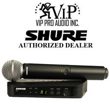 Shure BLX24/SM58-H10 Handheld BLX24 Vocal Wireless System w/SM58 Microphone H10