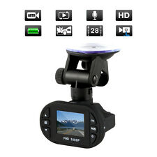 140° LED 1080P Full HD G-Sensor Dashcam Auto DVR Camcorder Video 12-IR LED HDMI