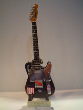 Miniature Guitar (24cm Tall) : THE CLASH JOE STRUMMER TELECASTER