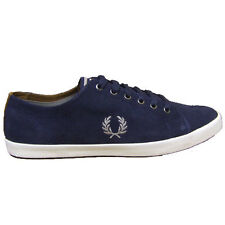 Fred Perry Kingston Suede Carbon Blue UK9 EU43