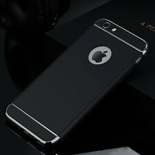 LUXURY Shockproof Hybrid Plating Hard Back Case Cover for iPhone 7 5s 6 6s Plus