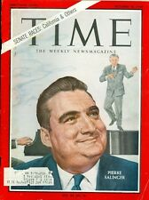 1964 Time Magazine: Pierre Salinger California Senate Race & Others