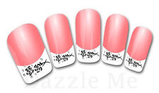 3D Nail Art Sticker Decals Transfer Stickers French Tip Design (3D822)