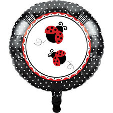 "Ladybug Fancy 18"" Foil Balloon Birthday Baby Shower Party Supplies Decorations"
