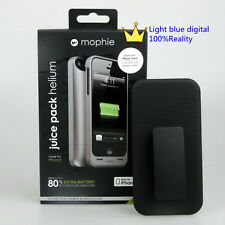 New Mophie Juice pack helium 1500mah iphone se/iphone5s/iphone5 Shell dark gray