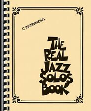 The Real Jazz Solos Book Sheet Music C Instruments Real Book Fake Book 000240268