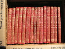 Antique collection 15 Rudyard Kipling classics red leather bound elephant pocket
