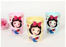 Disney Princess Snow White 3p Cup Set  Seven Dwarfs Kids Cute Gift Girls 180ml