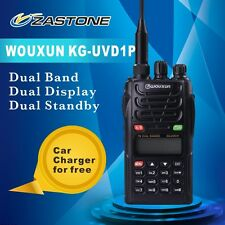 WouXun KG-UVD1P Handheld Two-way Radio  Dual Band Walkie Talkie  1400mAh Battery