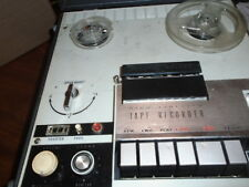 Vintage Channel master Model 6548 High Fidelity Tape Recorder. Works! Reel to