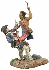 Britains soldats/clash of empires woodland indian et milice coloniale WB16003