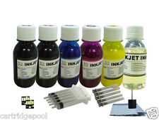 Refill pigment ink kit for Kodak 10 :ESP 5 5210 5250 7 7250 6x4oz/s with 2 chips