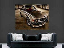 BMW 3 SERIES CLASSIC CAR LARGE WALL ART POSTER PICTURE  PRINT