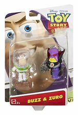 Toy Story Basic Figure Pack - Buzz and Zurg *BRAND NEW*