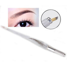 1x Fashion Permanent Makeup Eyebrow Tattoo Pen Needle Holder Tatoo Machine Pen