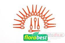 20 Ersatz Plastik Messer Messerchen FLORABEST LIDL Trimmer FAT 18 B3 IAN 102971