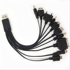 Portable 10 in 1 Date Charge Cable Multi USB Charger For CellPhone