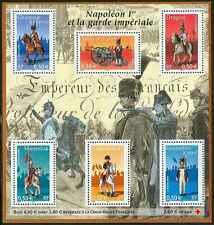 2004 FRANCE BLOC N°72** BF NAPOLEON 1er ET SA GARDE IMPERIALE SHEET MNH
