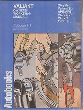 CHRYSLER VALIANT STRAIGHT SIX AP5 AP6 VC VE VF VG VH 1963 - 1973 WORKSHOP MANUAL
