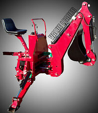 Tractor Backhoe 6'Dig Self Contained PTO Powered Cat.I 25Hp+(BHM6)
