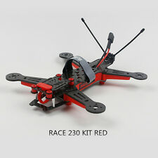 New Race 230 Carbon Fiber Frame Kit Red for Racing Drone Helicopter Quadcopter