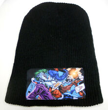 NWT DC COMICS Batman vs HARLEY QUINN JOKER knit BEANIE HAT SUICIDE SQUAD photo