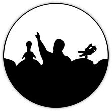 """Mystery Science Theater MST3K 3000 sticker decal 4"""" x 4"""""""