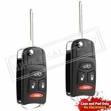 2 Replacement For 2006 2007 Dodge Charger Flip Key Case