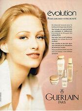 PUBLICITE ADVERTISING 074  1993  GUERLAIN  cosmétiques 93