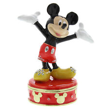 Disney Classic Jewelled Trinket Box Ornament - Mickey Mouse in Gift Box  22166
