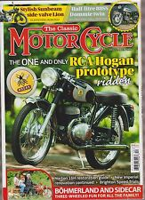 THE CLASSIC MOTOR CYCLE MAGAZINE DECEMBER 2016.